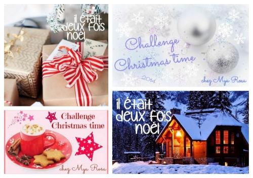 logos des challenges de Noël