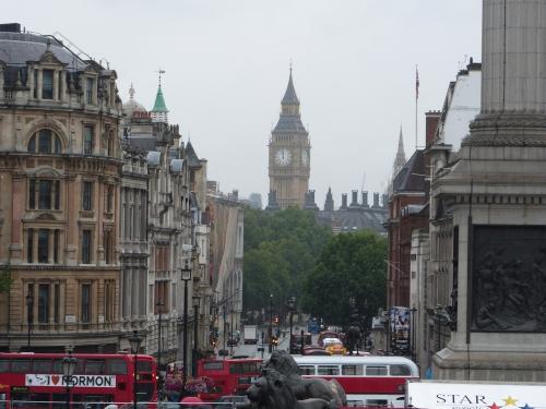 voyage à londres, Londres,