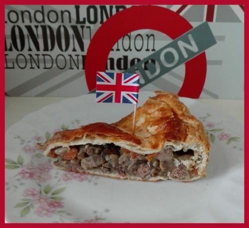 meat pie, recette, cuisine anglaise, pub